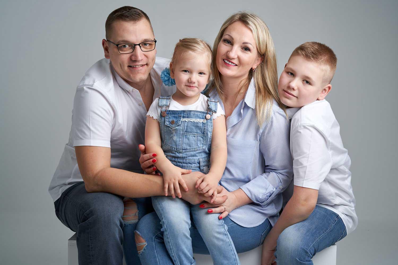 Family Portrait Studio 0096