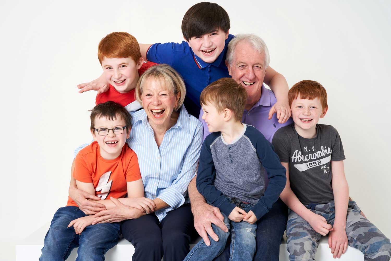 Family Portrait Studio 0108
