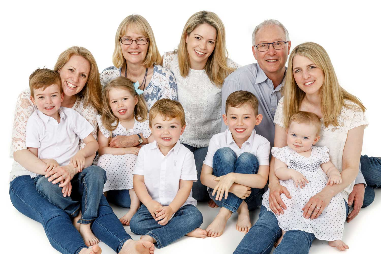 Family Portrait Studio 0119