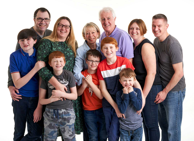 Family Portrait Studio 0109