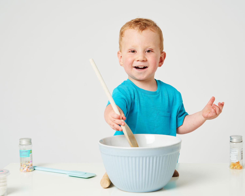 Preparation Nervous Toddler Portrait